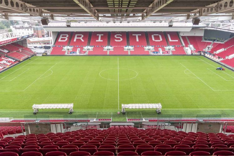 Ashton Gate Stadium, Bristol UK