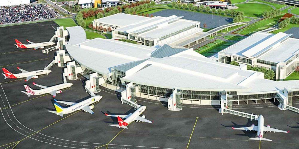 Canberra International Airport, Canberra Australia