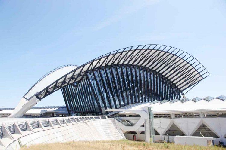Lyon Airport, France
