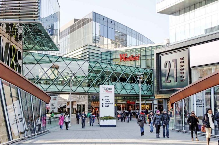 Westfield Shopping Centre, London