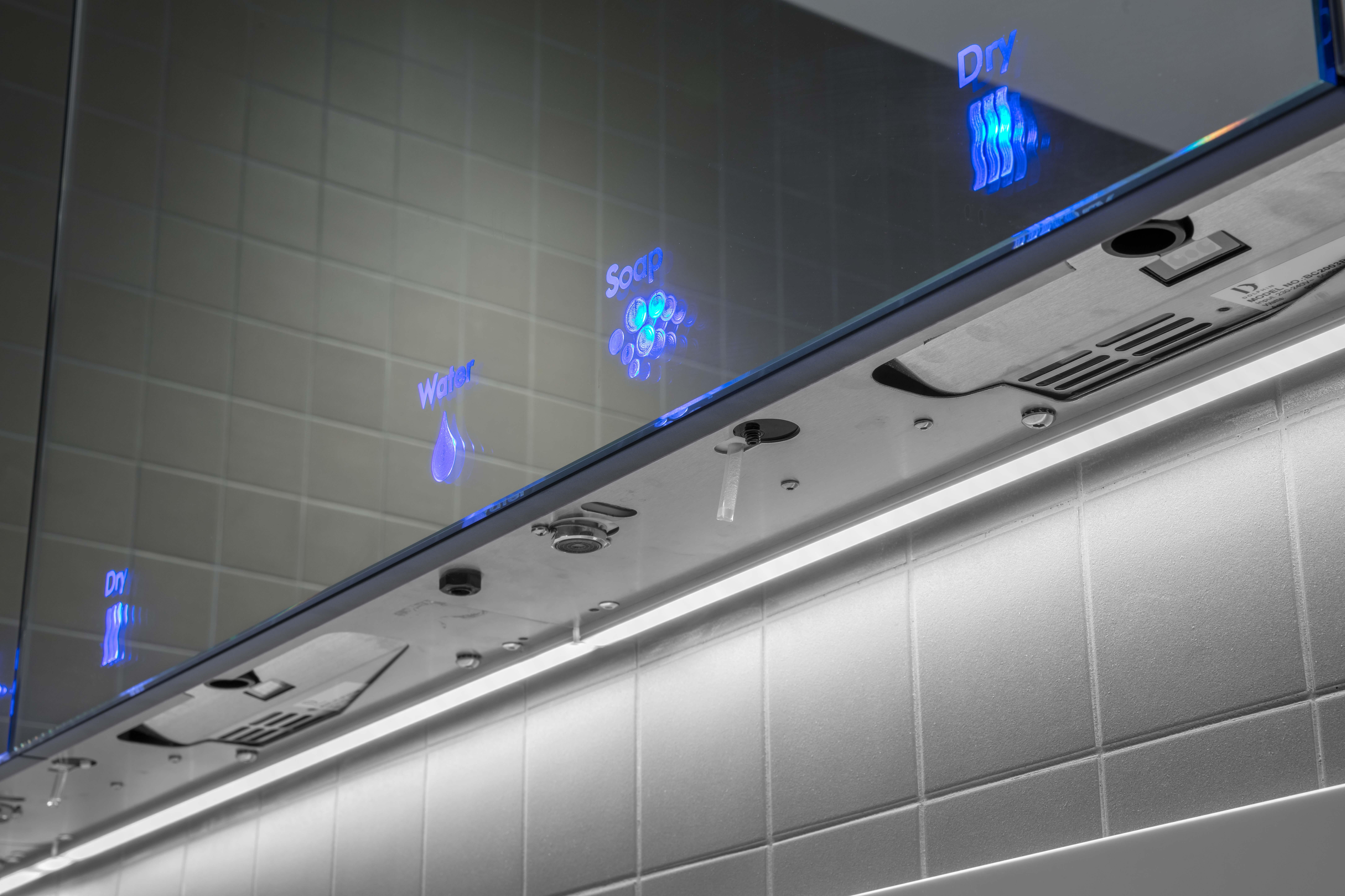Dolphin Washroom at Hobart Airport
