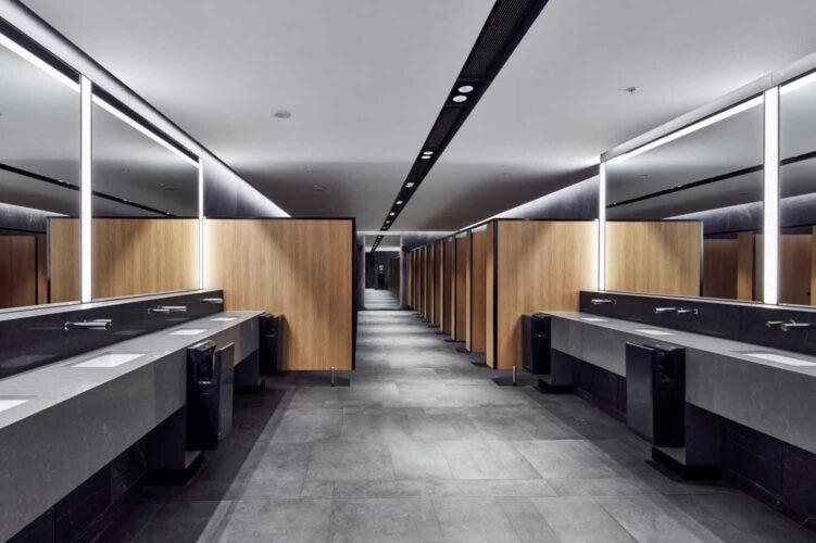 Dolphin Washroom at Sydney Airport