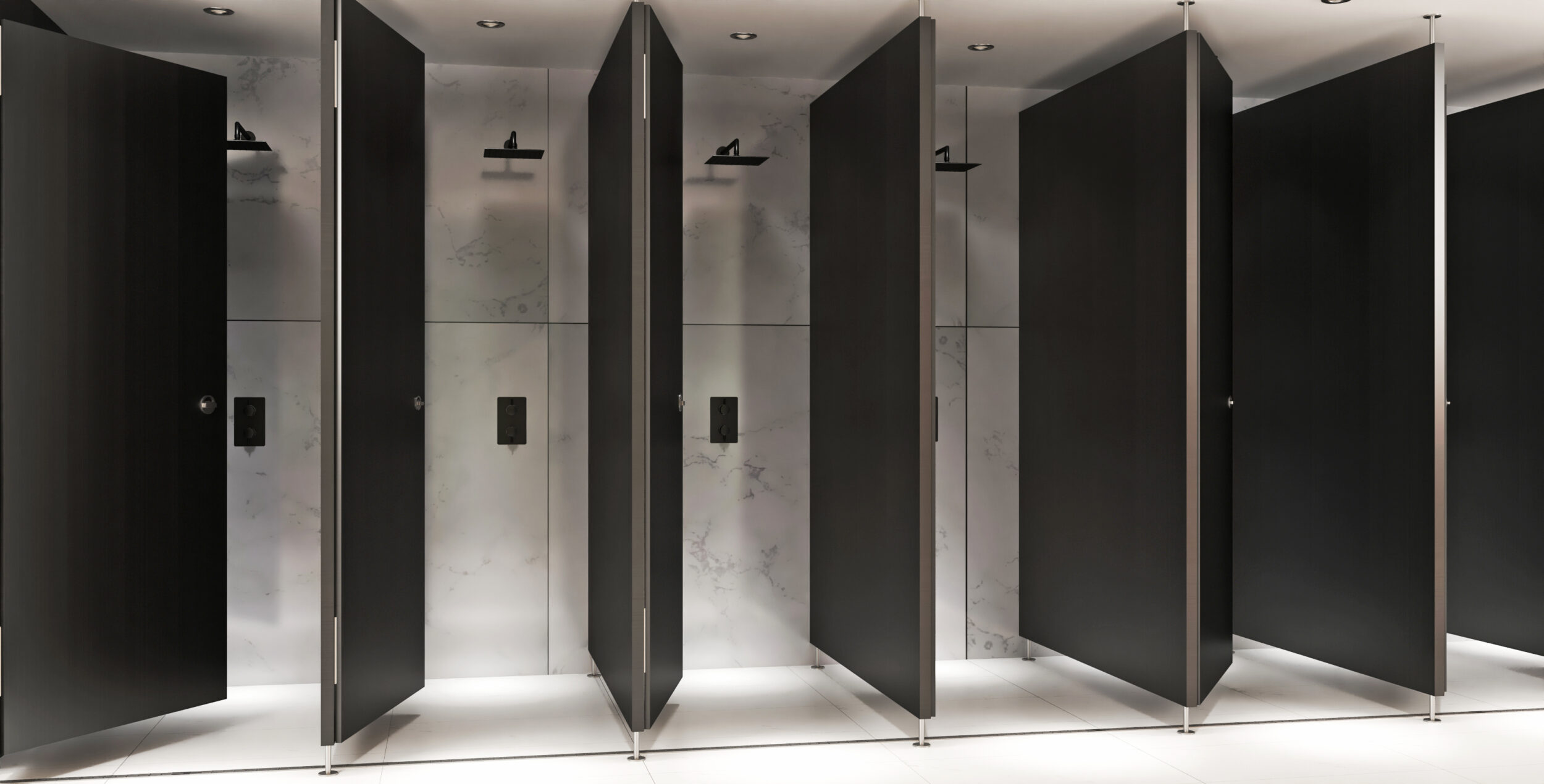 commerical shower set for offices