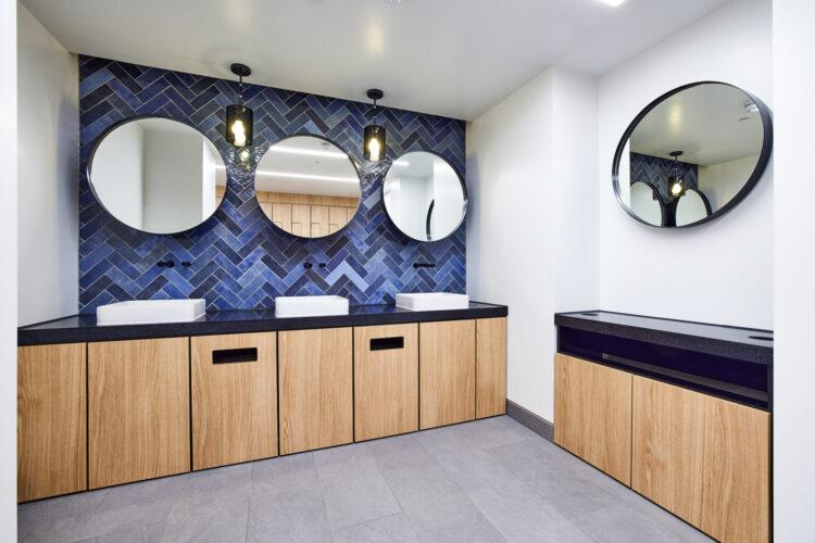 Dolphin Washroom Set at 16 Old Bailey, London