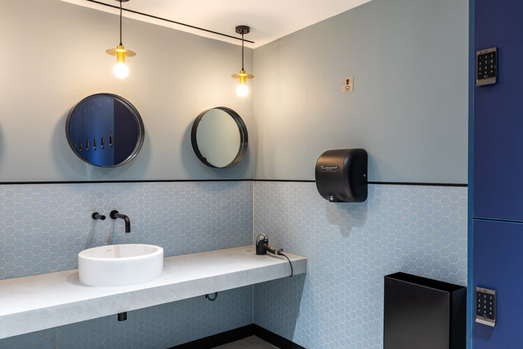 Dolphin Commercial Washroom as seen in 155 Bishopsgate
