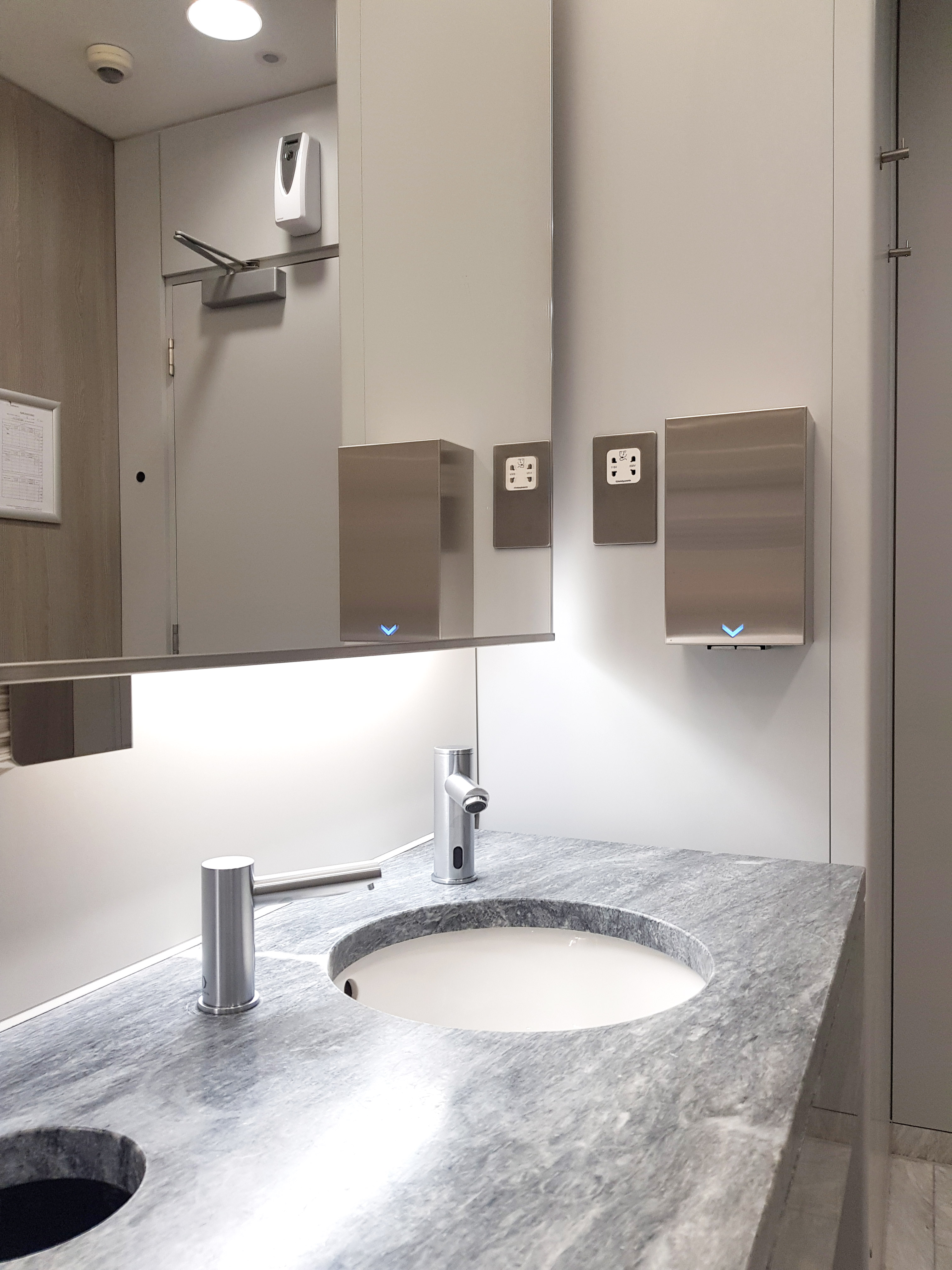 Dolphin Hand Dryer and Commercial Washroom Accessories at Botolph Building