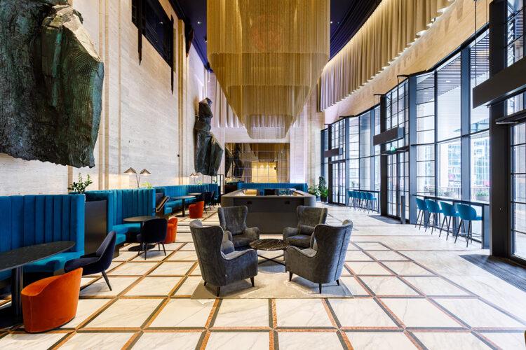 155 Bishopsgate Reception Area