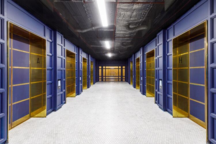 155 Bishopsgate Elevator Corridor